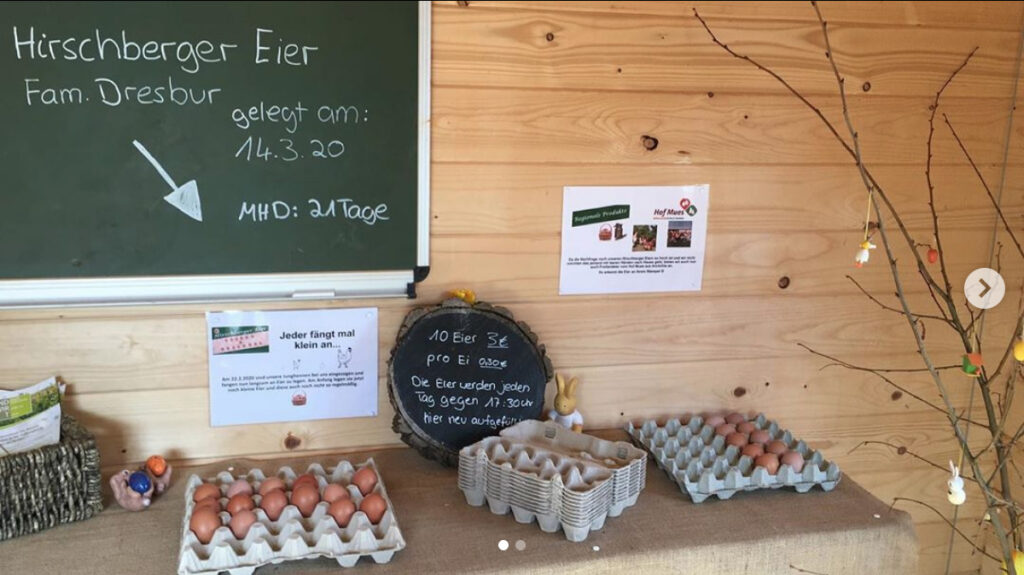 Eier zu Verkauf