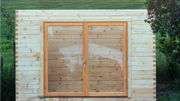 Haus aus Holz
