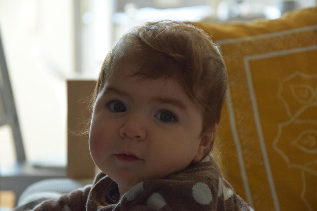 Portrait eines 1-jährigen Mädchens