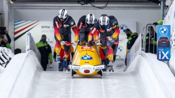 BMW IBSF Weltcup Bob Camp; Skeleton