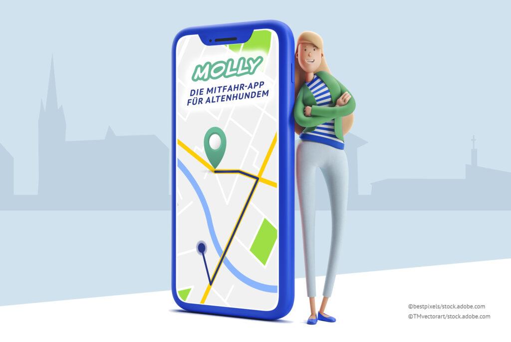 Mitfahr-App Molly