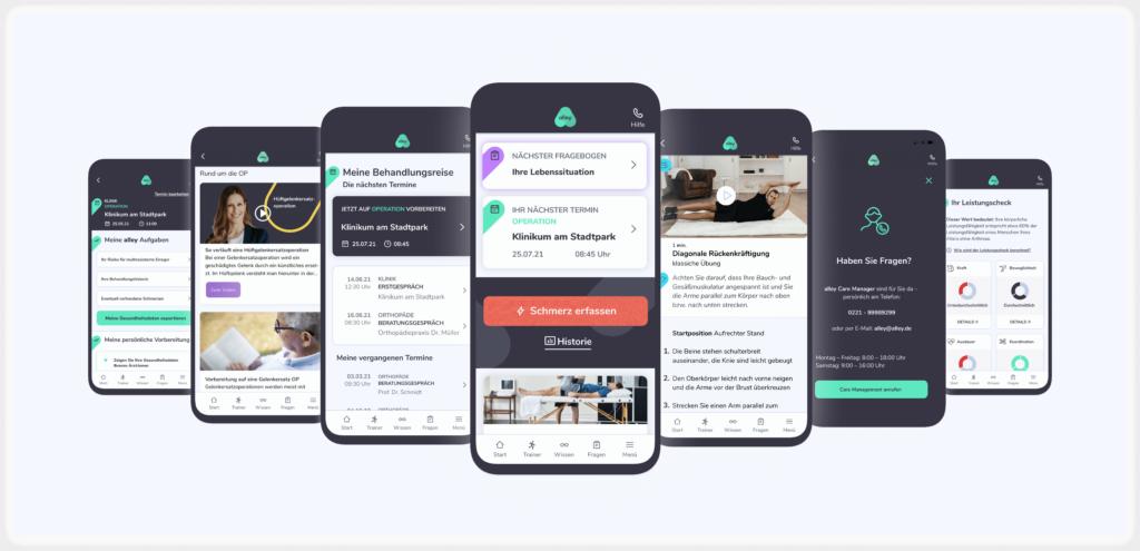 Alley-App (Pilotprojekt)