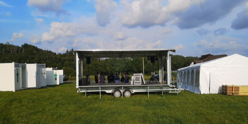Mobile Veranstaltungsarena Medebach